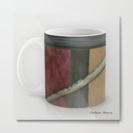 Artist Brush Coffee Mug Modern Art Print Metal Print