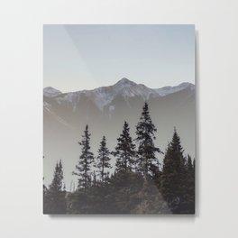 Red Mountain Pass Metal Print