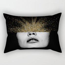Woman Within Rectangular Pillow