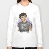 zayn Long Sleeve T-shirts featuring Zayn  by Coconut Wishes
