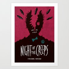 Night of the Creeps Art Print