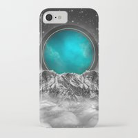 stargate iPhone & iPod Cases featuring Fade Away (Lunar Eclipse) by soaring anchor designs