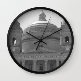 Beautiful Dome BW  Wall Clock