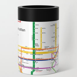 New York City subway map Can Cooler