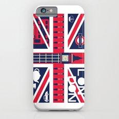 Vintage Union Jack UK Flag with London Decoration Slim Case iPhone 6s