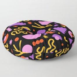 Purple ramen Floor Pillow