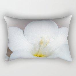 Freesia bloom Rectangular Pillow