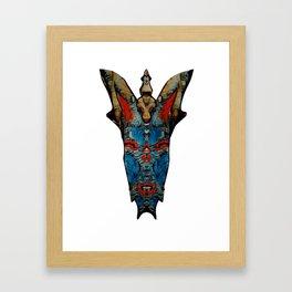 marble demon Framed Art Print