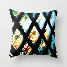 Let The Sunshine In - Painting Style Throw Pillow