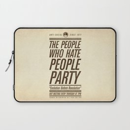 Don't Vote Now! Laptop Sleeve