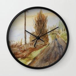 Télégraphe Wall Clock