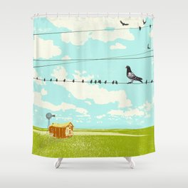 FIELD & WIRE Shower Curtain