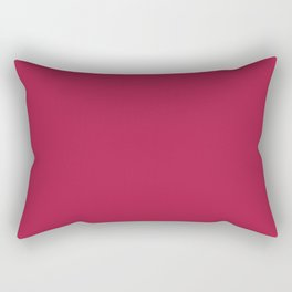 French Wine - solid color Rectangular Pillow