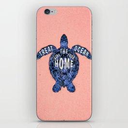 ocean omega (variant 3) iPhone Skin