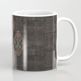Kilim in Black and Pink Coffee Mug