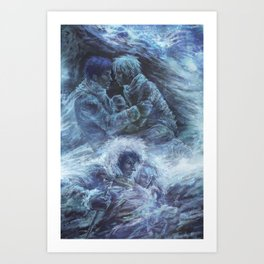 Left hand of darkness Art Print