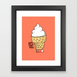 Everyone Poops by ilovedoodle Framed Art Print