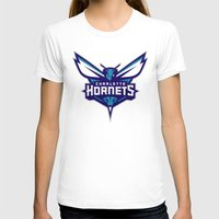 nba T-shirts featuring NBA - Hornets by Katieb1013