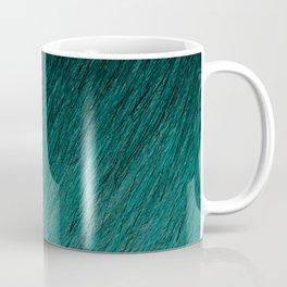 Funky Dark Cyan Coffee Mug