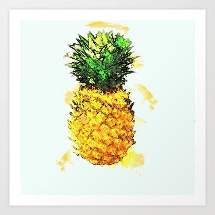 Slice of Summer  Art Print