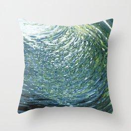 Underwater Movement Throw Pillow