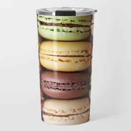 Colorful Macaroons Travel Mug
