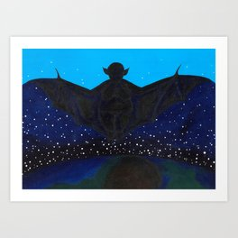 Noctifer Art Print