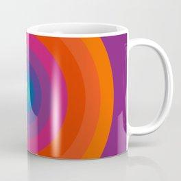 Retro Bullseye Pattern Coffee Mug