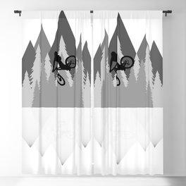 MTB Whip Gray Blackout Curtain