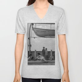 Simple Times NYC Unisex V-Neck
