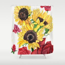 Happy Life Shower Curtain