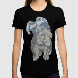 Inquisitive Schnauzer T-shirt