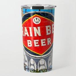 Grain Belt Beer Sign Travel Mug