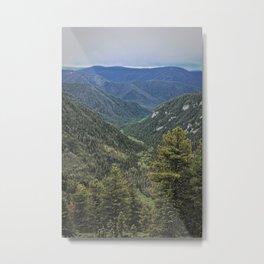 The walnut ridge Metal Print