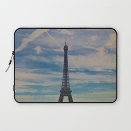 Eiffel Tower, Paris (Landscape) Laptop Sleeve