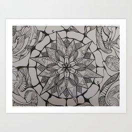 Mama Mandala Art Print