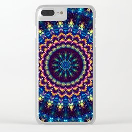 Luminescent Sky Clear iPhone Case