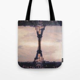 Dueling Eiffel Towers // Paris Tote Bag