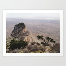Guadalupe Mountains National Park Art Print