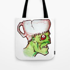 coffee zombie notext Tote Bag