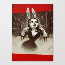 Vampirabbit Canvas Print