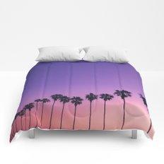 Palm Sunset Comforters