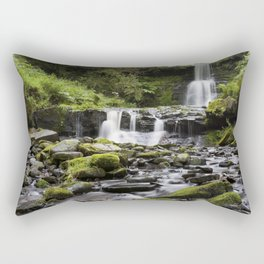 Blaen-y-glyn Waterfall 4 Rectangular Pillow