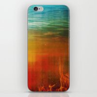 flight iPhone & iPod Skins featuring Flight by SensualPatterns