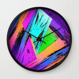 The fast trap Wall Clock