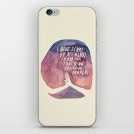 From Touching People iPhone Skin