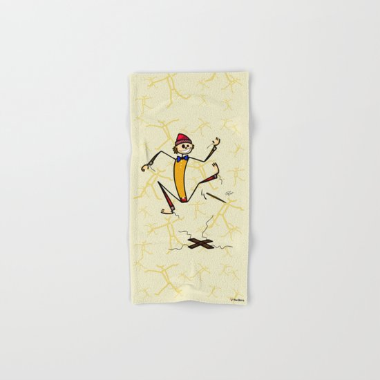 Marionette Hand & Bath Towel