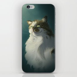 Sly cat iPhone Skin