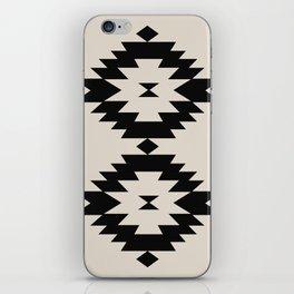 Southwestern Minimalism - Black iPhone Skin