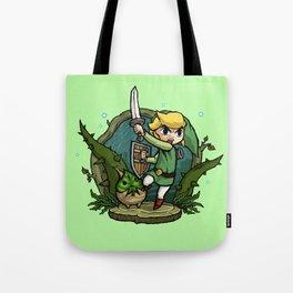 Legend of Zelda Wind Waker Forbidden Woods Temple T-Shirt Tote Bag